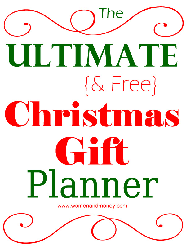 Xmas Gifts For The Woman Who Has Everything Free Christmas Gift Planner