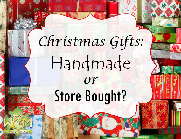 Christmas gifts: should you go with handmade or store bought?