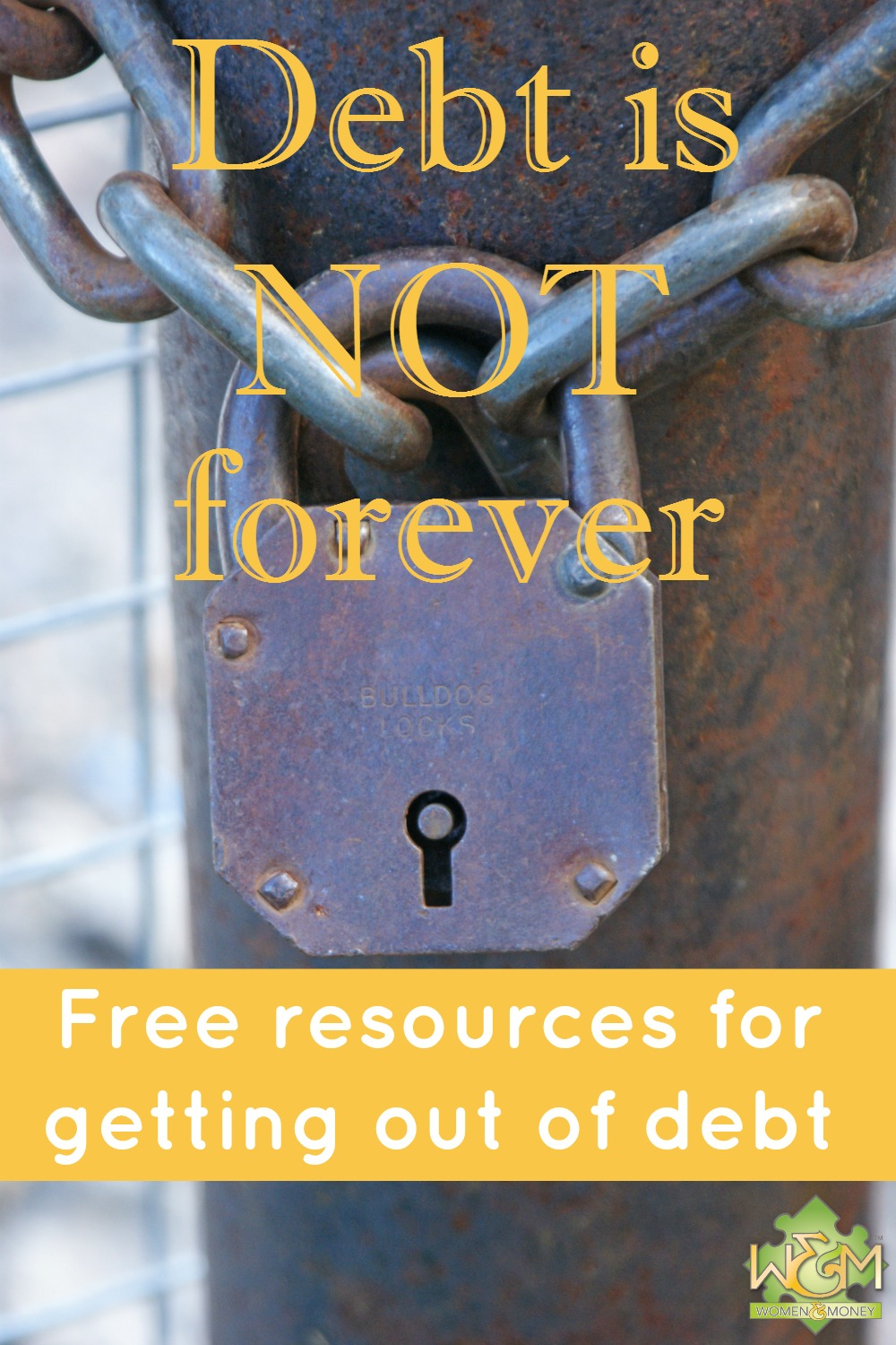 Debt is not forever! Here's some awesome free resources for getting out of debt