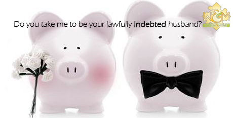 Debt and Marriage: Do you take me to be your lawfully indebted husband? - womenandmoney.com