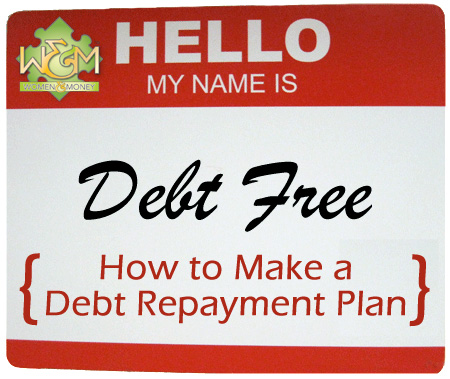 Find out how to master your debt by making your own debt repayment plan