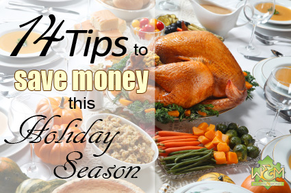 14 Tips to Save Money this Holiday Season - gifts, food, travel and more! | womenandmoney.com
